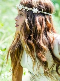 Peinados de comunión para niña: la moda de los cuentos de hadas
