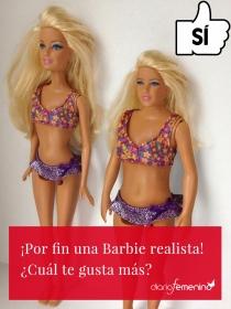 La Barbie ahora es bajita y tiene culete
