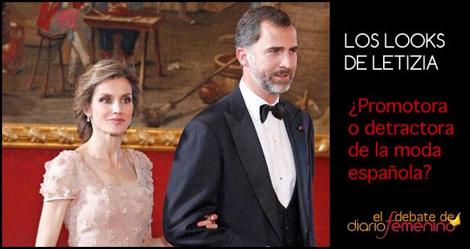Letizia, ¿promotora o detractora de la moda española?