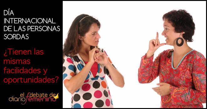 Día internacional de las personas sordas: ¿tienen las mismas oportunidades?