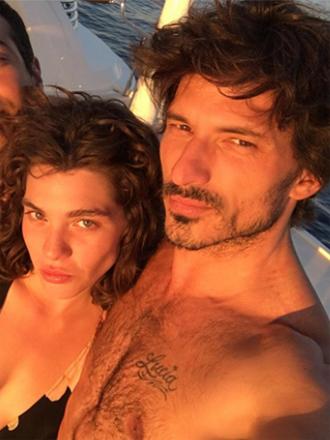 Andrés Velencoso, ¿vacaciones en compañía de nueva novia?