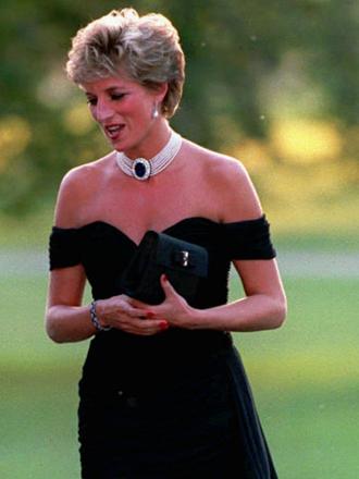 Lo que aprendimos de la vida con el vestido negro de Lady Di