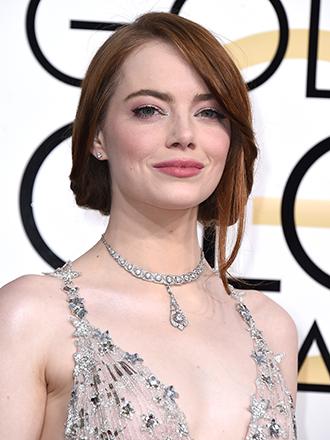 Globos de Oro 2017: Copia el maquillaje rosado de Emma Stone