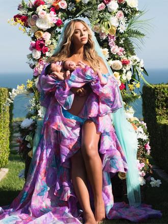 Beyoncé presenta a sus gemelos en Instagram