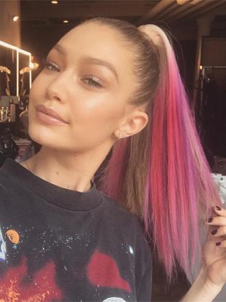 El pelo unicornio, la última tendencia