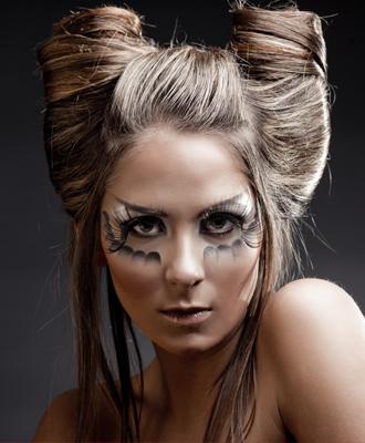 Más de 60 ideas de peinados para Halloween