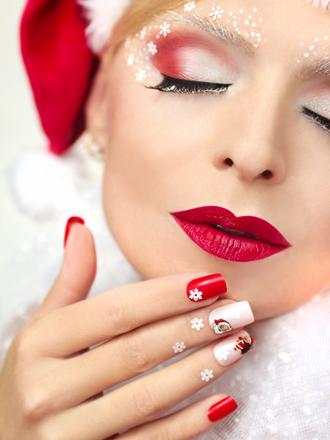 Más de 70 diseños de uñas de Navidad fáciles y divertidos