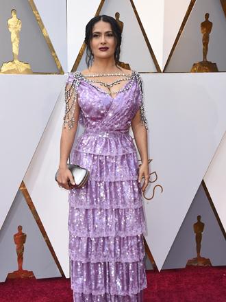 Oscars 2018: Las peor vestidas de la alfombra roja
