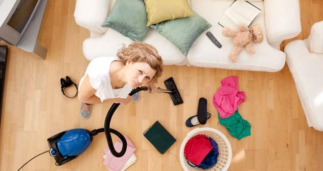 Cómo mantener la casa limpia sin morir en el intento