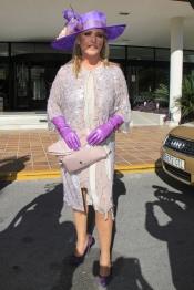 Lydia Lozano se puso morada en la boda de Beatriz Trapote