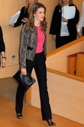 El look forzado de la Princesa Letizia