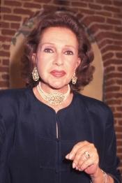 El teatro y el cine eran las pasiones de Amparo Rivelles