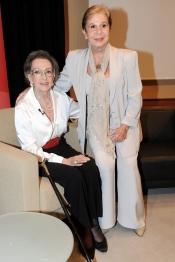 Amparo Rivelles y Lina Morgan: compañeras de profesión