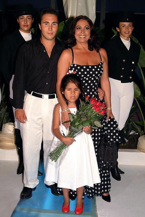 Isabel Pantoja, madre orgullosa de Chabelita y Kiko Rivera
