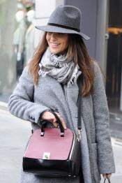 Paula Echevarría, de compras al más puro estilo gánster