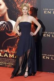 El vestido de Jennifer Lawrence en su visita a Madrid