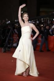 Jennifer Lawrence, la más querida en la presentación de Los Juegos del Hambre: En llamas