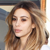 Kim Kardashian no es lo mismo sin maquillar