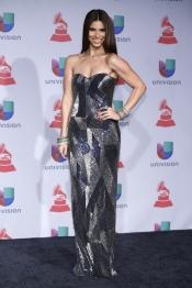 Premios Grammy Latino 2013: Roselyn Sánchez y su futurista vestido