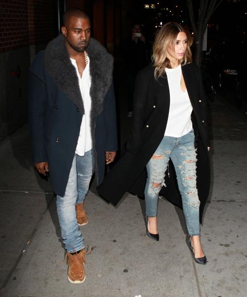 Kim Kardashian y Kanye West no podrían estar más compenetrados