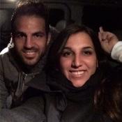 Cesc Fàbregas y su hermana Carlota son más que parecidos