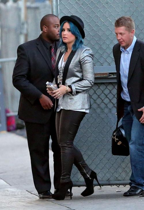 Demi Lovato, al más puro estilo Pete Doherty