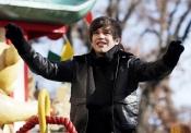 Austin Mahone ha pasado frío en el Desfile de Acción de Gracias 2013 en Nueva York