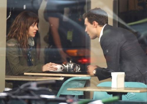 Christian Grey y Anastasia Steele ya tienen vida en el rodaje de '50 sombras de Grey'