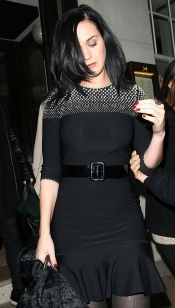 El look más triste de Katy Perry