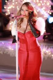 Mariah Carey, protagonista del encendido de luces en Navidad