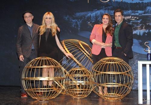 David Bustamante, Marta Sánchez y Niña Pastori y su anuncio de la Lotería