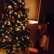 Taylor Swift espera impaciente la Navidad