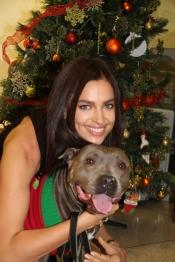 Irina Shayk, novia de Cristiano Ronaldo, es una amante de los animales