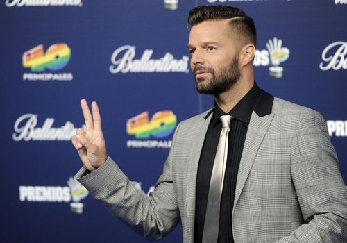 Ricky Martin, blanco de todas las miradas en los Premios 40 Principales 2013