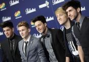 Los chicos de Auryn en los Premios 40 Principales 2013