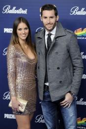 Rudy Fernández y su novia Helen Lindes en los Premios 40 Principales 2013