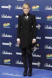 El look de Luján Argüelles en los Premios 40 Principales 2013