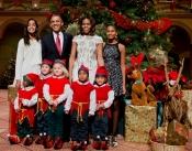 La Navidad más feliz de la familia Obama