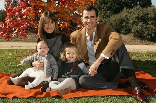 En 2007 fue la primera ocasión en la que la Infanta Sofía estuvo presente en el christma Navideño