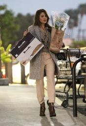 Eva Mendes, preparada para la Nochebuena