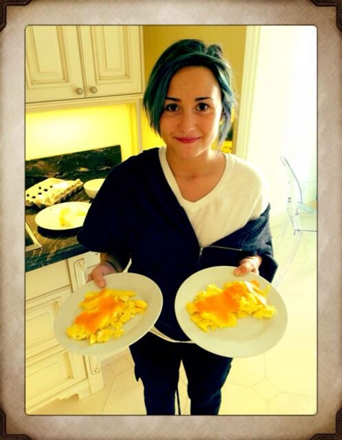 El desayuno preferido de Demi Lovato