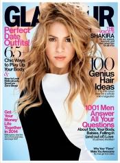 Shakira se suelta la melena para Glamour