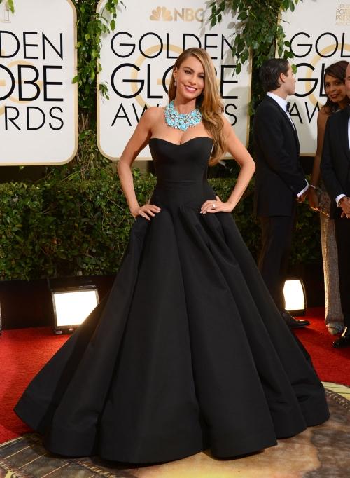 Sofía Vergara, la más elegante de los Globos de Oro 2014