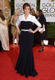 Julia Roberts, una señora en la gala de los Globos de Oro 2014