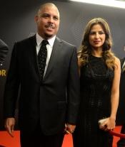 Ronaldo acudió junto a su novia María Beatriz a la gala del Balón de Oro