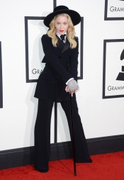 Madonna no dejó indiferente a nadie con su look en los Grammy 2014