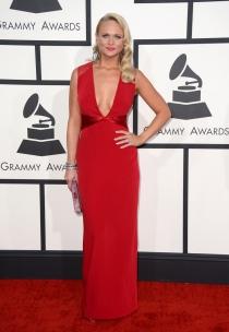 Miranda Lambert unió sensualidad y elegancia en su look