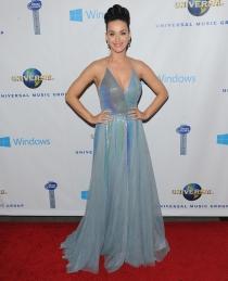Katy Perry prefirió otro vestido para la fiesta posterior a los Grammy 2014