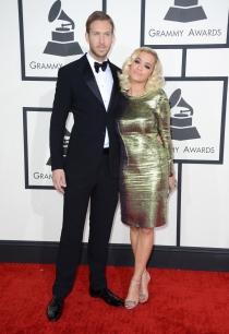 Rita Ora y Calvin Harris pasearon su amor por los Grammy 2014