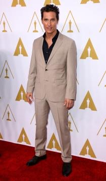 Matthew McConaughey, nominado a Mejor Actor por 'Dallas Buyers Club'